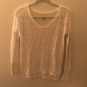 Aeropostale Open Knit Sweater